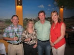 2011: Herb Hill, Cathy Hill, Robb Swain, Laurie Swain